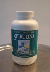 Spirulina poeder supervoeding